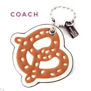 Authentic Coach PRETZEL BAG CHARM